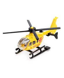 Siku Die Cast Funskool Helicopter - Yellow