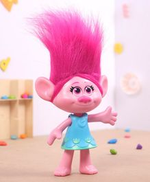 Trolls Poppy Action Figure Pink Blue - Height 27 cm