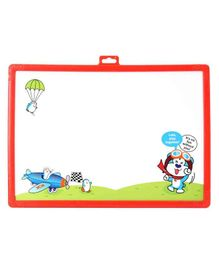 Ekta 2 in 1 Write & Wipe Writing Board - Red