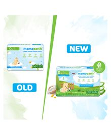 mamaearth Plant-Based Diaper Pants for Babies Size Medium - 30 Pieces