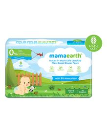 mamaearth Plant-Based Diaper Pants for Babies Size Large - 30 Pieces