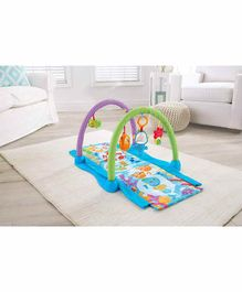 Fisher Price Kick and Crawl Musical Gym - Multicolor
