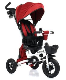 Babyhug Tricycle with Inner Directional Control - Red