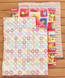 Mee Mee Bed Protector Plastic Mat Multi Print Pack of 3 - Multicolor