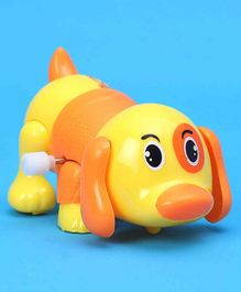 Puppy Shaped Wind Up Toy - Yellow