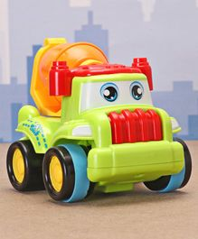 Friction Construction Vehicle Mixer Toy -Light  Green