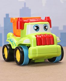 Friction Construction Vehicle Dumper Toy - Green
