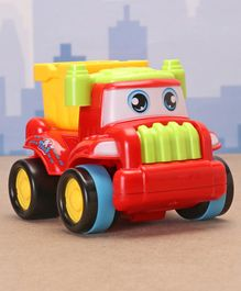 Friction Construction Vehicle Dumper Toy - Red