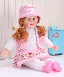 ToyMark Musical Fashion Doll Pink - Height 36.5 cm