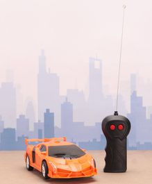 Rising Step Remote Controlled Car - Orange