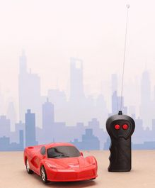 Rising Step Remote Controlled Car - Red