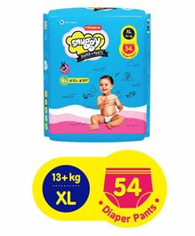 Snuggy Premium Baby Diaper Pants Extra Large - 54 Pieces