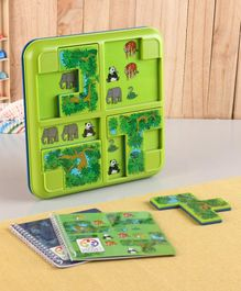 Smart Games Jungle Hide And Seek Puzzle Game - Multicolor
