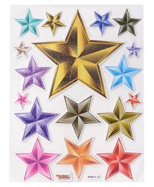 Sticker Bazaar Star Sticker - Multicolor