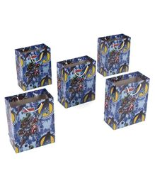 Marvel Avengers Gift Bags Blue - Pack of 5