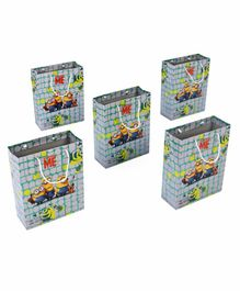 Disney Minnions Themed Gift Bags Multicolor - Pack of 5