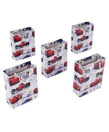 Disney Pixar Cars Themed Gift Bags Multicolor - Pack of 5