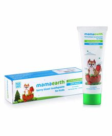 Mamaearth Berry Blast Toothpaste Pack of 2 - 50 gm Each