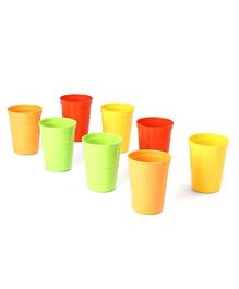 Baby Tumbler Multicolor Pack of 8 - 280 ml