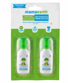 Mamaearth Anti Mosquito Fabric Roll On Pack of 2 - 8 ml Each