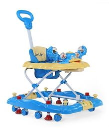 Luv Lap Comfy Baby Walker - Blue