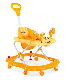 Luv Lap Sunshine Musical Baby Walker Yellow - 18128