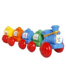 Giggles Wibbly Wobbly Train - Multi Color