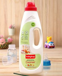 Babyhug Feeding Bottles, Accessories & Vegetables Disinfectant Liquid Cleanser - 1000 ml