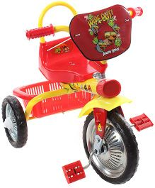 Angry Bird Tricycle with Angry Bird Print - Red