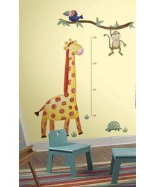 RoomMates Giraffe Growth Metric Chart