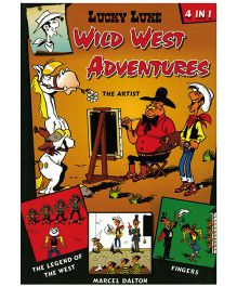 Shree Book Centre Lucky Luke Wild West Adventures 4 in 1 - English