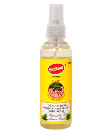 RunBugz Mosquito Repellent Body Spray - 100 ml