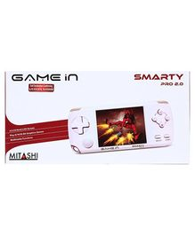 Mitashi Smarty Pro 2 Gaming Console White - 4.3 Inches