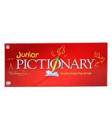 Mattel Toys Junior Pictionary Board Game - Multicolor