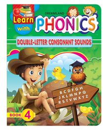 Dreamland Publication Learn With Phonics Book 4 - English