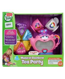 Leap Frog Rainbow Tea Set - 10 Pieces