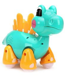 Mitashi Skykidz Jungle Rumble Dino - Aqua Green