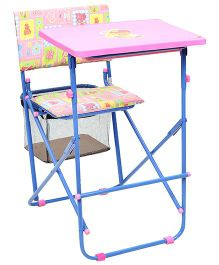 Mothertouch Educational Desk Set - Heart And Flower Print
