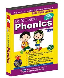 MAS Kreations Lets Learn Phonics - English