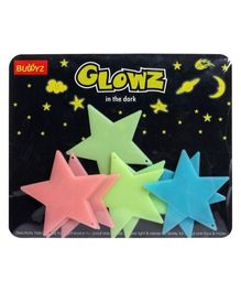 Buddyz Glowz Big Stars - 8 Pieces (Color May vary)