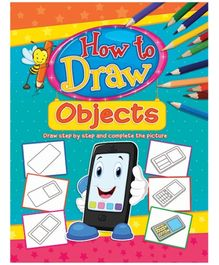 Dreamland Coloring Book How To Draw Object Book 3 - English