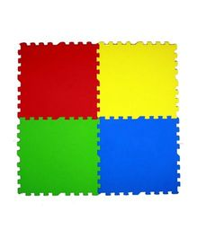 Ultimate Play Mats Multi Color - 4 Pieces