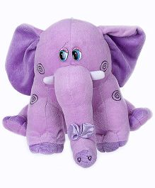 Tickles Elephant Soft Toy - Purple
