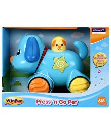 Winfun Press N Go Pet Puppy - Blue