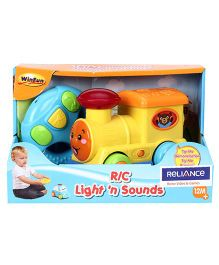 Winfun Light N Sound Remote Controlled Train - Multicolour