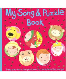 My Song And Puzzle Book Red - English