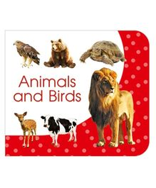 Art Factory Animals And Birds Board Book - English