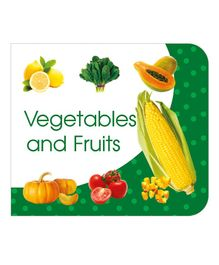 ART Factory Vegetables And Fruits Board Book - English