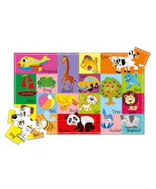Art Factory First Word Puzzle And Book Kit - English