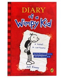 A Novel In Cartoons: Diary Of A Wimpy Kid